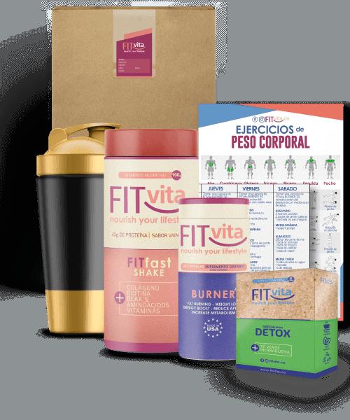 fitvita box detox shake burner batido