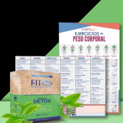 greenclean detox fitvita bajar peso